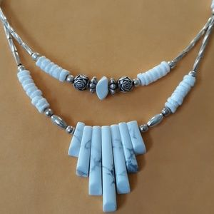 Jewelry - White Turquoise Necklace